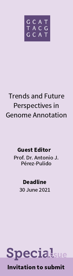 Special Issue: Genome Annotation